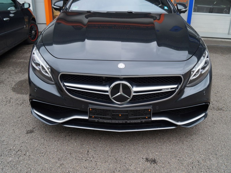 AMG S-Coupe Folierung Frontansicht