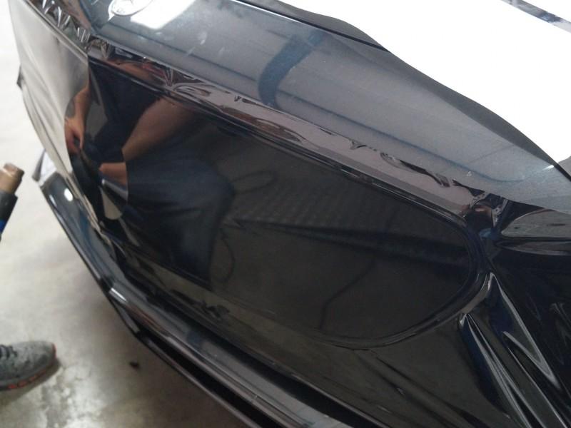 AMG S-Coupe Folierung Kühlergrill rechte Seite