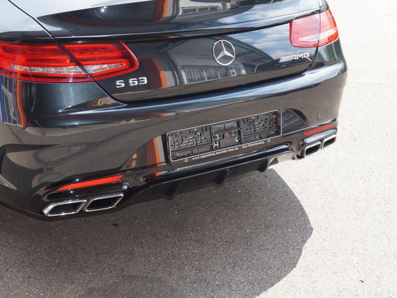 AMG S-Coupe Ansicht Heck nach Folierung