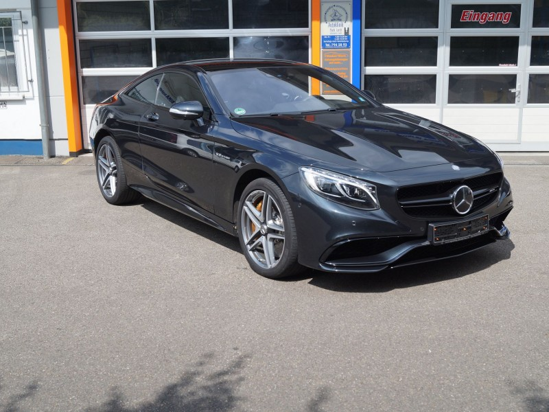 AMG S-Coupe Folierung aller Chromteile