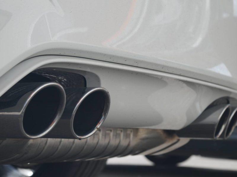BMW Folierung - Auspuff