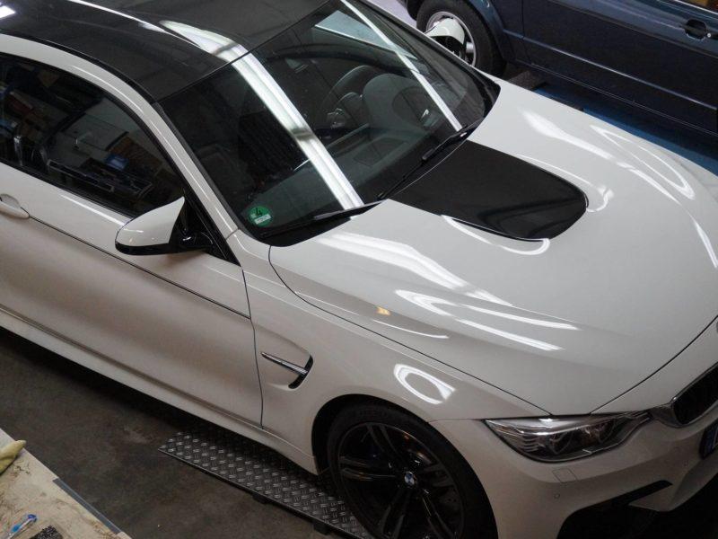 Folierung BMW bei Sticker Werk