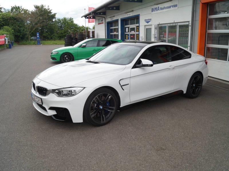 BMW M4 Folierung in Ulm und Pforzheim