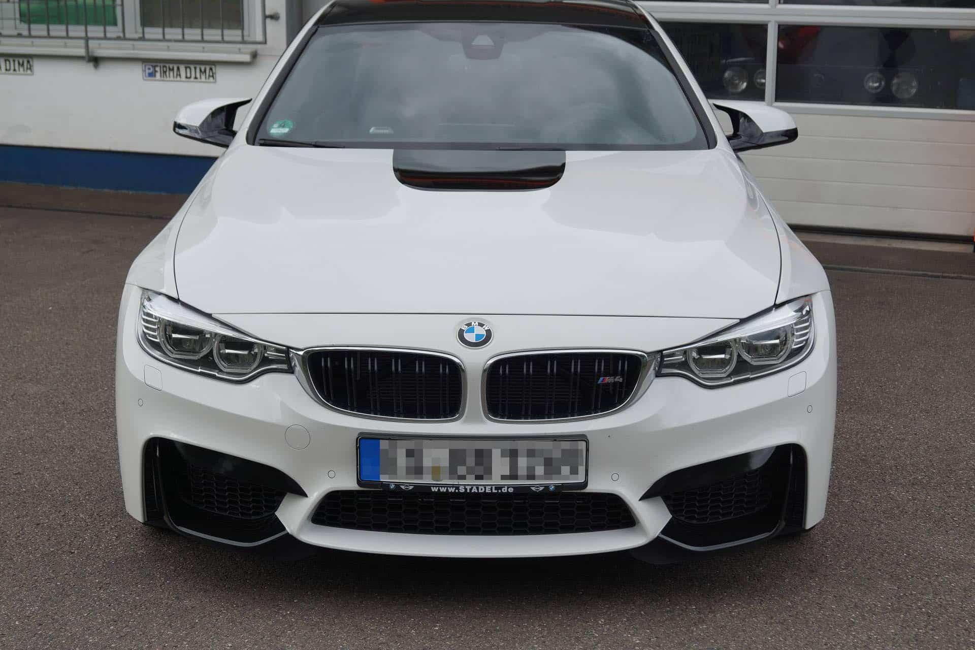 BMW M4 Teilfolierung in Ulm und Pforzheim