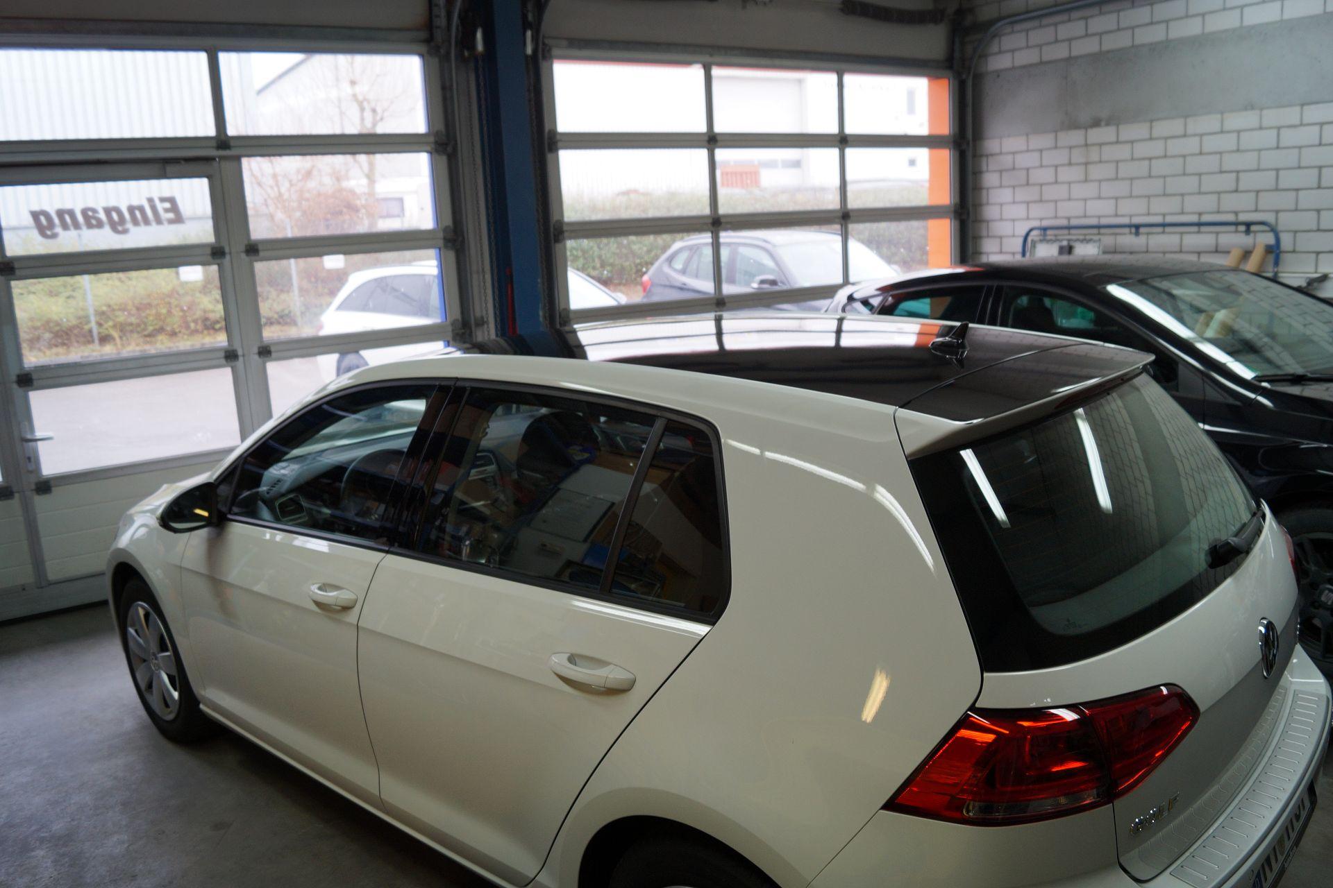 Golf 7 Folierung Dach Sticker Werk