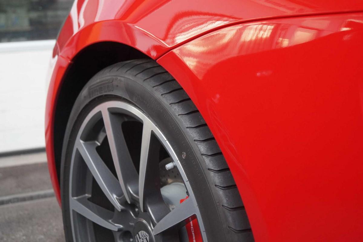 Lackschutz Folie auf Porsche Ulm