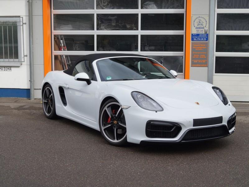 Steinschlagschutz-Folierung für Porsche Boxster GTS