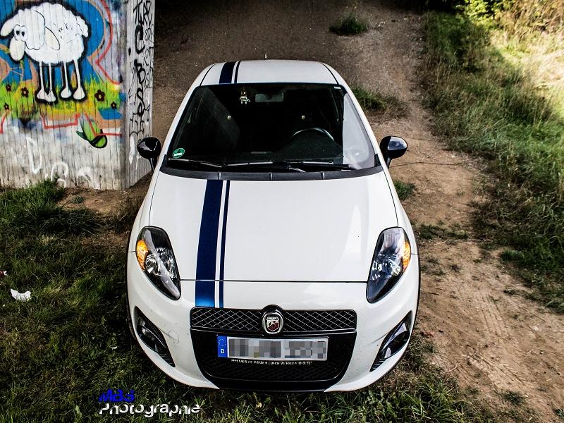 Fiat Abarth Auto-Beschriftung