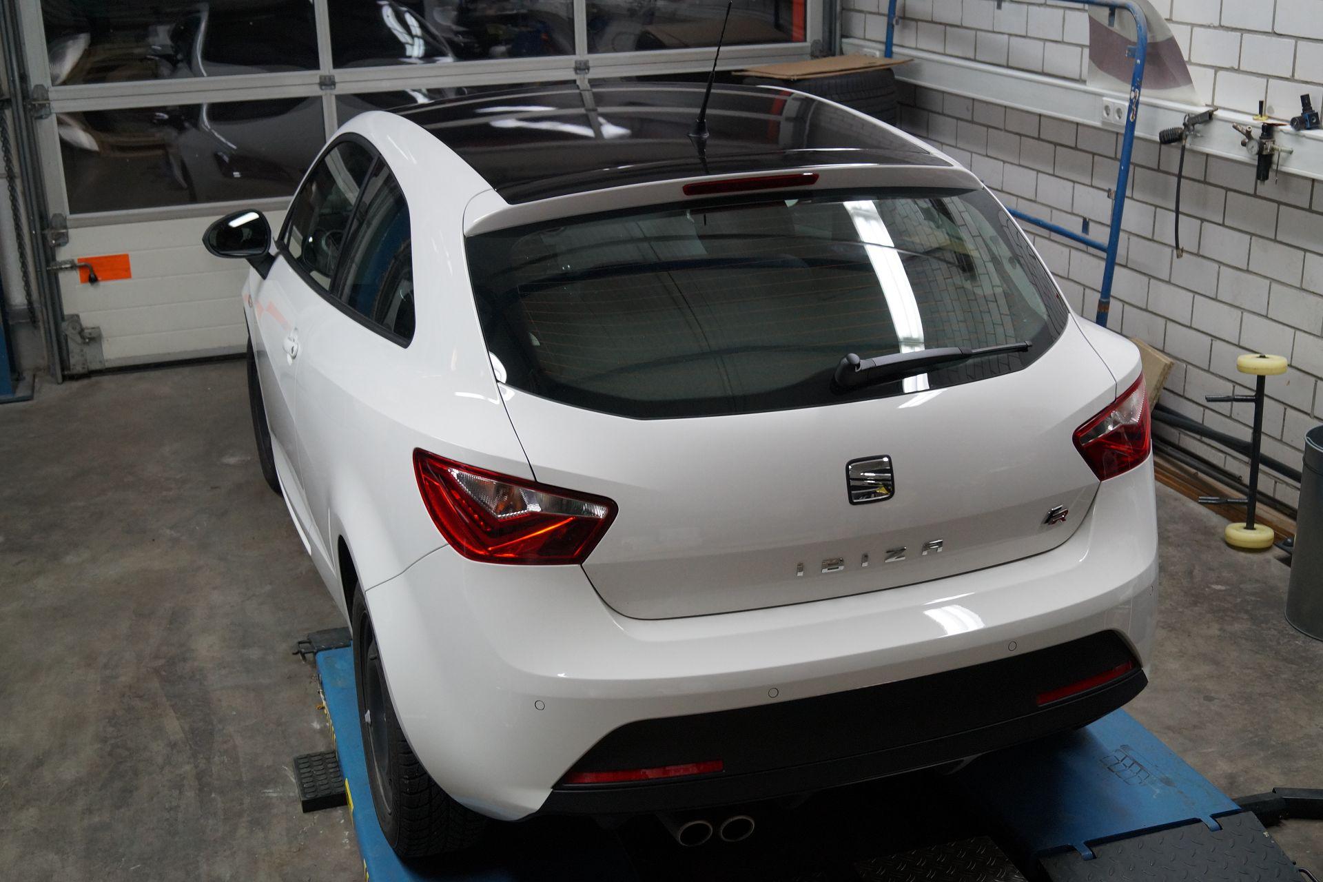 Seat Ibiza Folierung Dach Sticker Werk Dsc06522 Sticker Werk