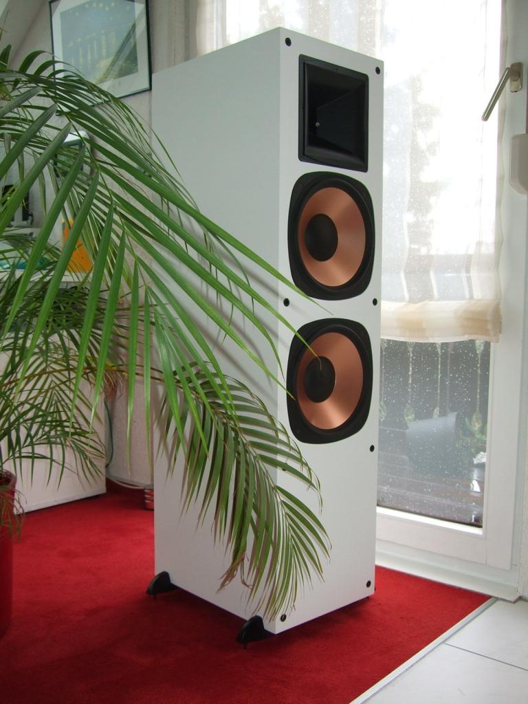 Folien-Aufkleber in weiß für Sound-Boxen